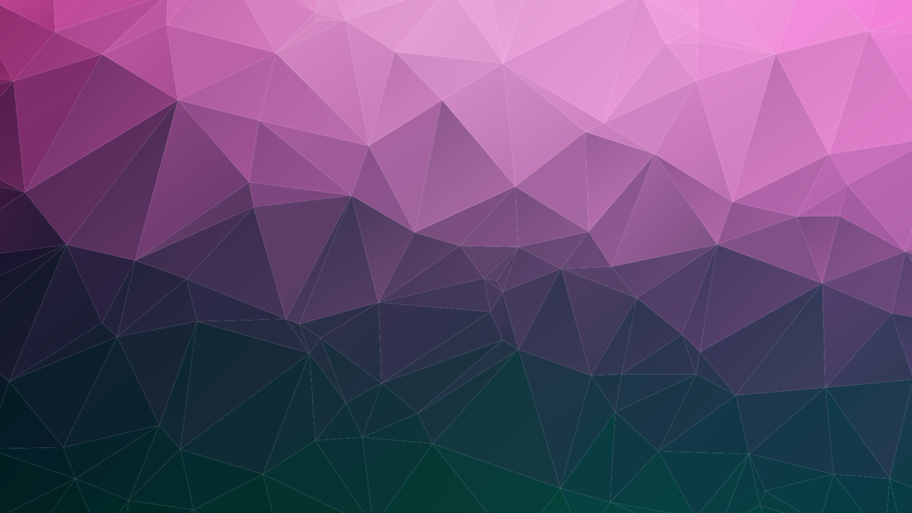 Purple triangle mesh